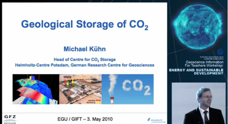 Ketzin-PresentationVideo: GIFT2010 Storage of CO2